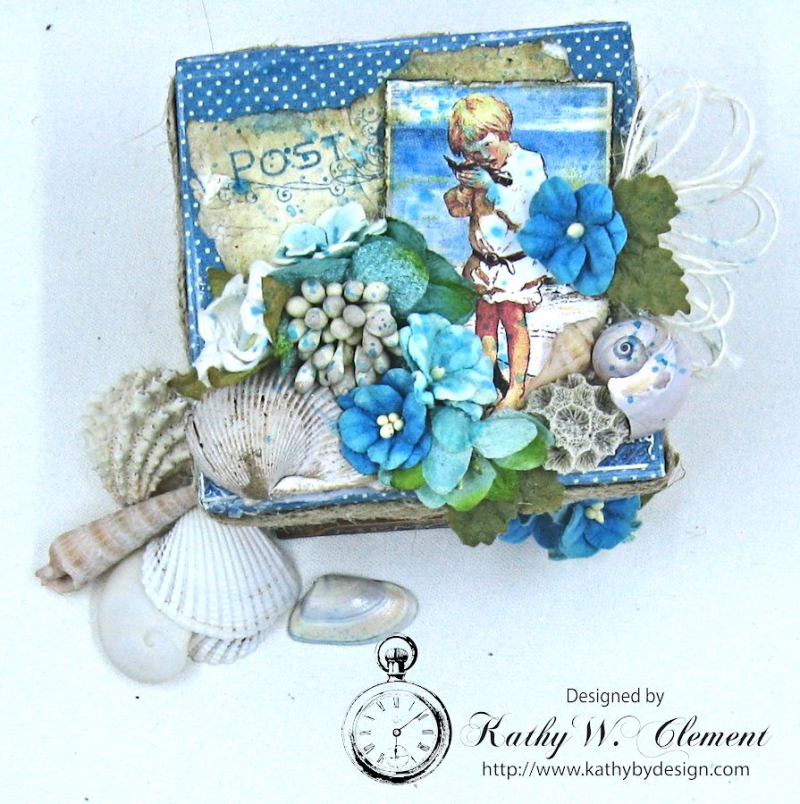 Seashore Treasure Box by Kathy Clement for Petaloo International, Product Graphic 45 Children's Hour Photo 3