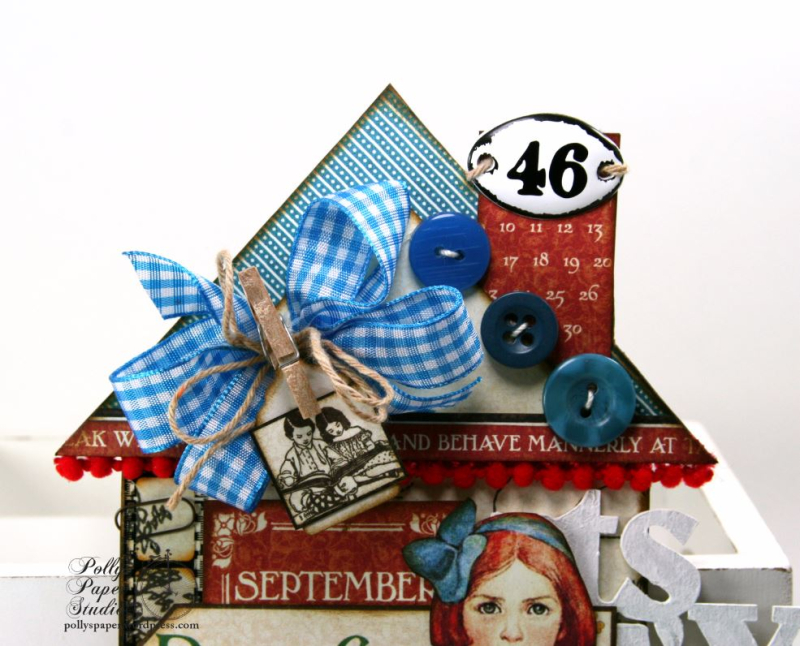 Back To School House Tag 3