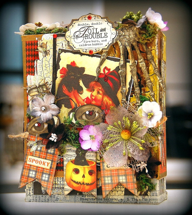Halloween Altered Box by Irene Tan 01