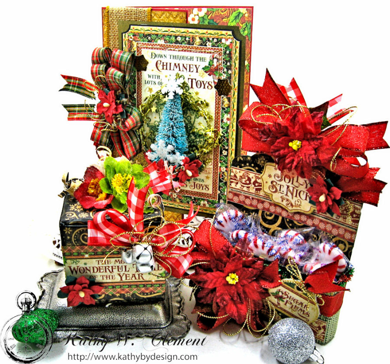 Sweet Seasons Greetings, Saint Nicholas, by Kathy Clement for Petaloo G45 Blog Hop, Product by Graphic 45, Photo 1