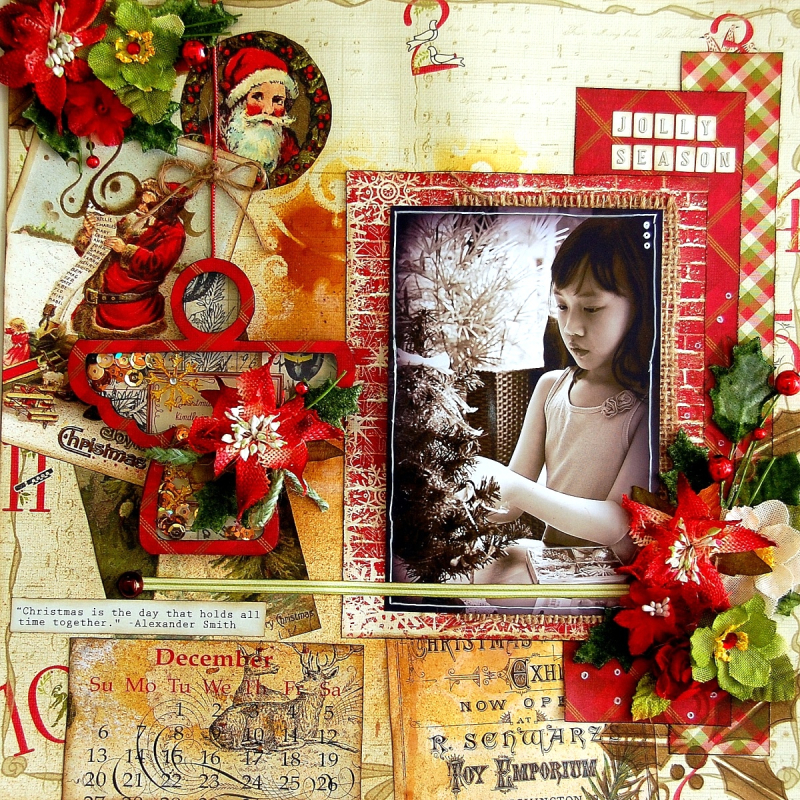Jolly Season Layout by Irene Tan 01