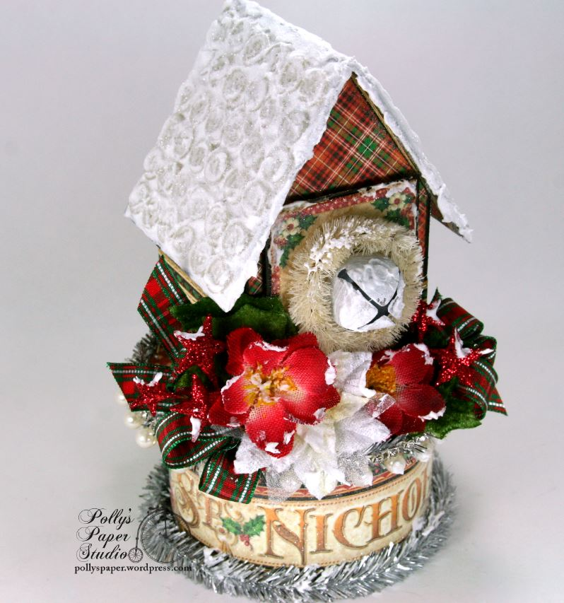 St. Nicholas Christmas House Holiday Home Decor 02