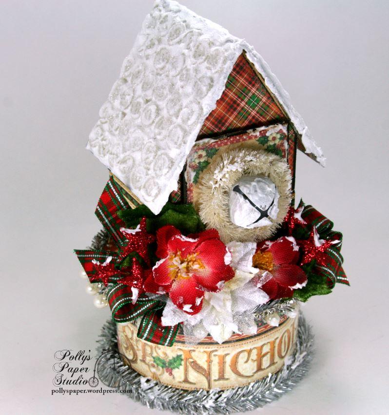 St. Nicholas Christmas House Holiday Home Decor 02