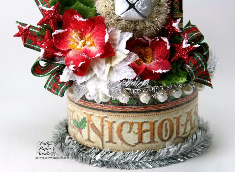 St. Nicholas Christmas House Holiday Home Decor 03