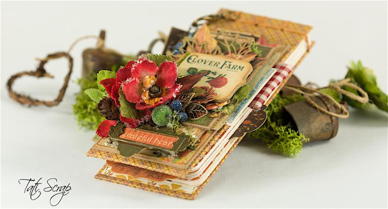 Tati, Celebrate Fall Note Book, Petaloo, Photo 1