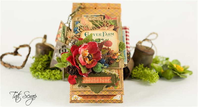 Tati, Celebrate Fall Note Book, Petaloo, Photo 2