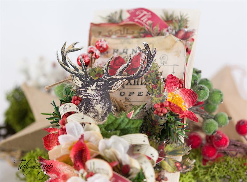 Tati, Christmas card, Petaloo, Authentique Blog Hop,Photo 2