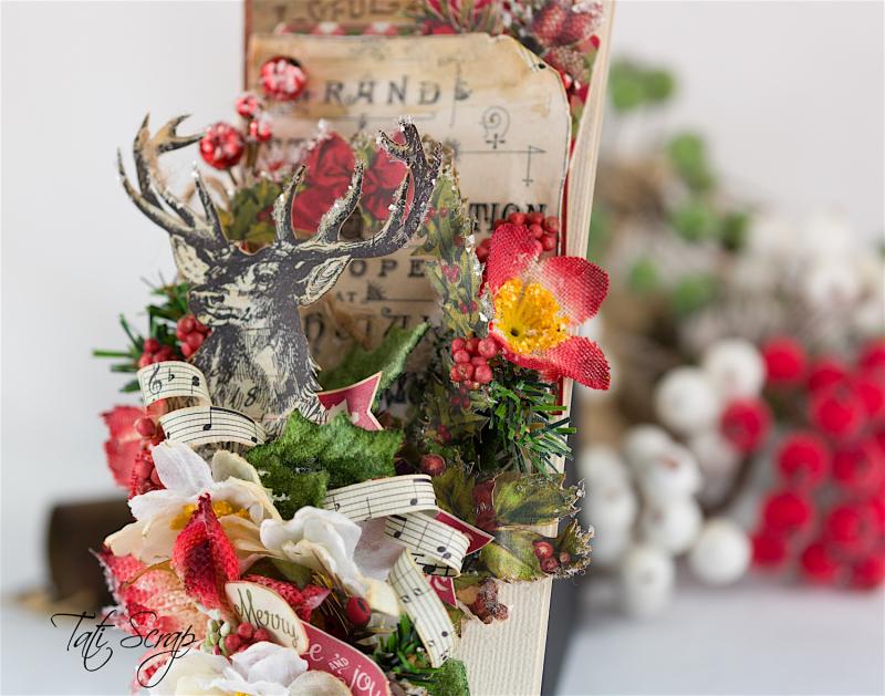 Tati, Christmas card, Petaloo, Authentique Blog Hop,Photo 4
