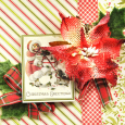 Petaloo Dec Authentique tree card close1