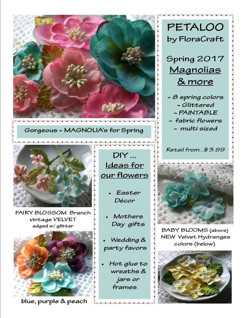 Consumer ~  Magnolias n More ~ SNEEK Peek 2017