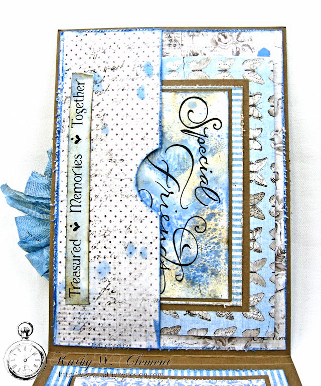 Shabby Chic Gift Folio by Kathy Clement for Petaloo by Floracraft Maja Design Spotlight  Photo 6