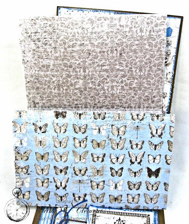 Shabby Chic Gift Folio by Kathy Clement for Petaloo by Floracraft Maja Design Spotlight  Photo 8
