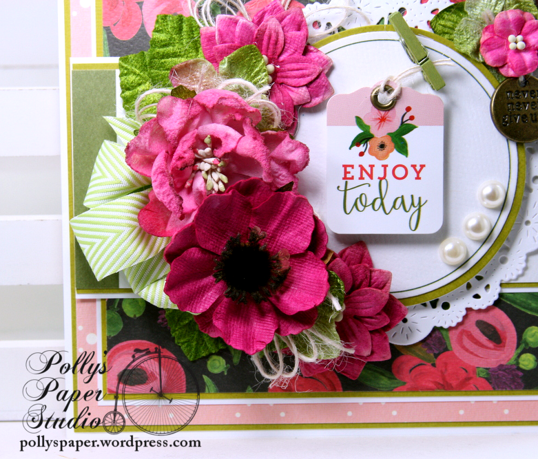Enjoy Today All Occasion Greeting Card Polly's Paper Studio 02