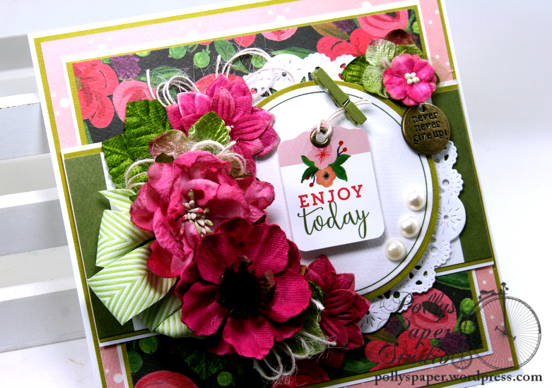 Enjoy Today All Occasion Greeting Card Polly's Paper Studio 05