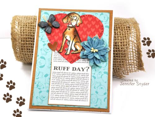 Dog card 3 ruff day