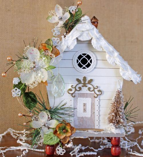 Christmas Birdhouse (2)