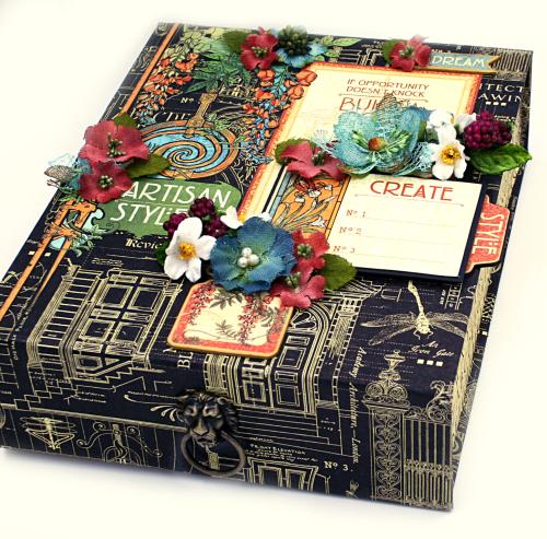 Box, Artisan Style, Petaloo, Maggi Harding, Graphic 45 (1)